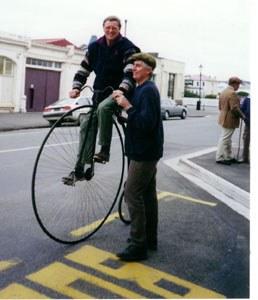 Tony also defining balance in Oamaru